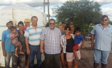 EL INTENDENTE PAPP JUNTO AL DIRECTOR DE LA APA SUPERVISÓ EL ESCURRIMIENTO DE LOS CANALES DE LA ZONA