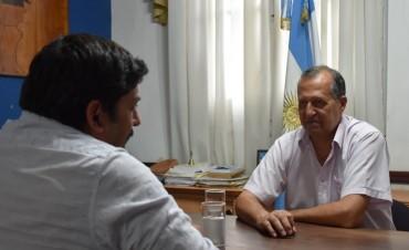 PAPP RECIBIÓ LA VISITA DEL INTENDENTE DE FUERTE ESPERANZA