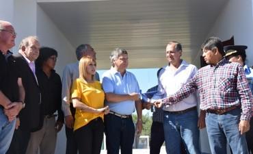 PAPP INAUGURÓ OBRAS CON EL GOBERNADOR Y DESTACÓ EL COMPROMISO DE PEPPO CON VILLA ÁNGELA