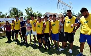 EL MUNICIPIO DE VILLA ÁNGELA COLABORÓ CON LA REALIZACIÓN DEL TORNEO INTER IGLESIAS
