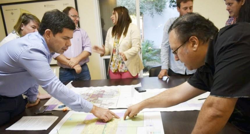 ÚLTIMOS DETALLES PARA PRESENTAR EL PROYECTO DE ORDENANZA DE ZONIFICACIÓN DEL USO DEL SUELO EN VILLA ÁNGELA