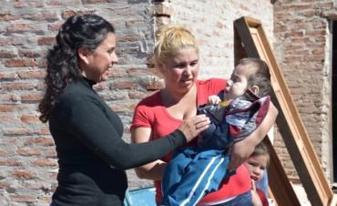 EL MUNICIPIO CONSTRUYE CASA PARA FAMILIA NUMEROSA CON UN MENOR CON HIDROCEFALIA E HIPOTERMIA