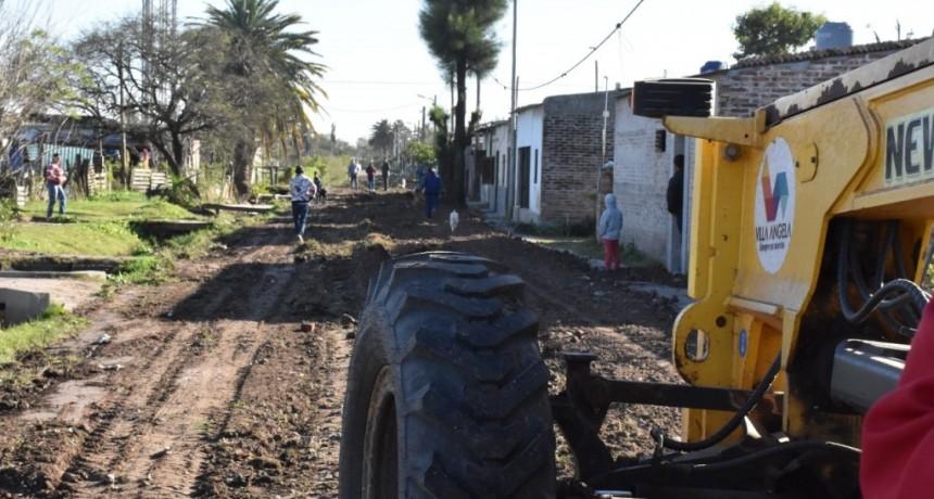 """EL MUNICIPIO DE VILLA ÁNGELA, RECONSTRUYE CALLES DEL SECTOR """"CACIQUE CATÁN"""" DEL BARRIO REMEDIOS DE ESCALADA"""