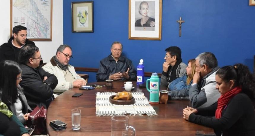 REUNIÓN DE GABINETE: PAPP INSTÓ A SUS FUNCIONARIOS A CONTINUAR TRABAJANDO ARDUAMENTE POR VILLA ÁNGELA