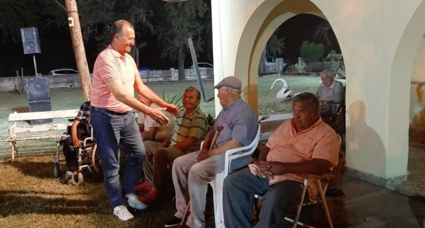 PAPP PARTICIPÓ DEL AGASAJO A ABUELOS DE LA RESIDENCIA