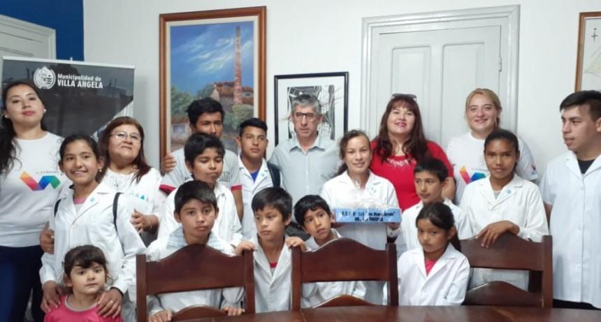 ALUMNOS DE LA EEP N° 719 VISITARON EL MUNICIPIO