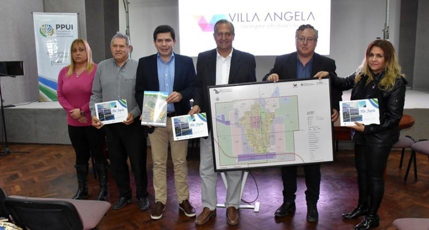 PAPP PRESENTÓ EL PLAN URBANO INTEGRAL DE VILLA ÁNGELA
