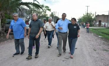 EL MUNICIPIO RIPIO CALLES DEL BARRIO SAN JOSÉ Y LOS VECINOS MANIFESTARON SU AGRADECIMIENTO