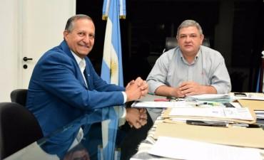 PAPP SE REUNIÓ CON EL PRESIDENTE DEL IPDUV PARA PROGRAMAR ACCIONES PARA VILLA ÁNGELA