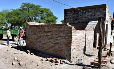 """EL MUNICIPIO ASISTIÓ A FAMILIAS DE COLONIA """"EL PASTORIL"""" AFECTADAS POR LA TORMENTA"""
