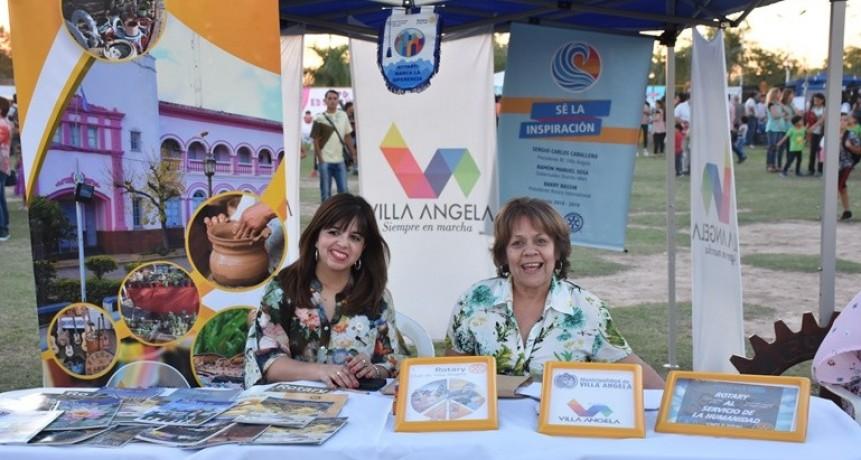 CULTURA Y ROTARY CLUB PROMOCIONAN OFERTA EDUCATIVA EN VILLA ÁNGELA