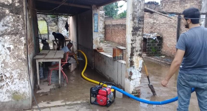 CUADRILLAS DE LIMPIEZA ORGANIZADAS POR LA COMISIÓN DE EMERGENCIA MUNICIPAL