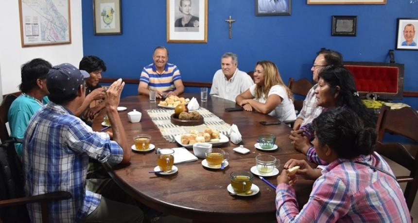 EL INTEDENTE PAPP RECIBIÓ A DIRIGENTES DE LA COMUNIDAD EL PASTORIL